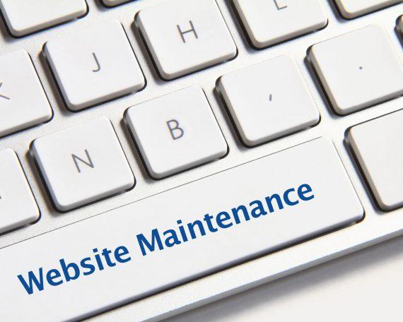 Annual website mainteance plan